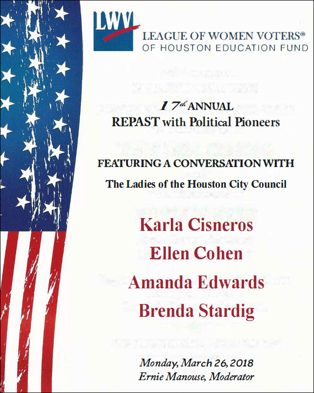 https://www.eventbrite.com/e/repast-2018-honoring-the-women-of-houston-city-council-tickets-42079509947?aff=es2