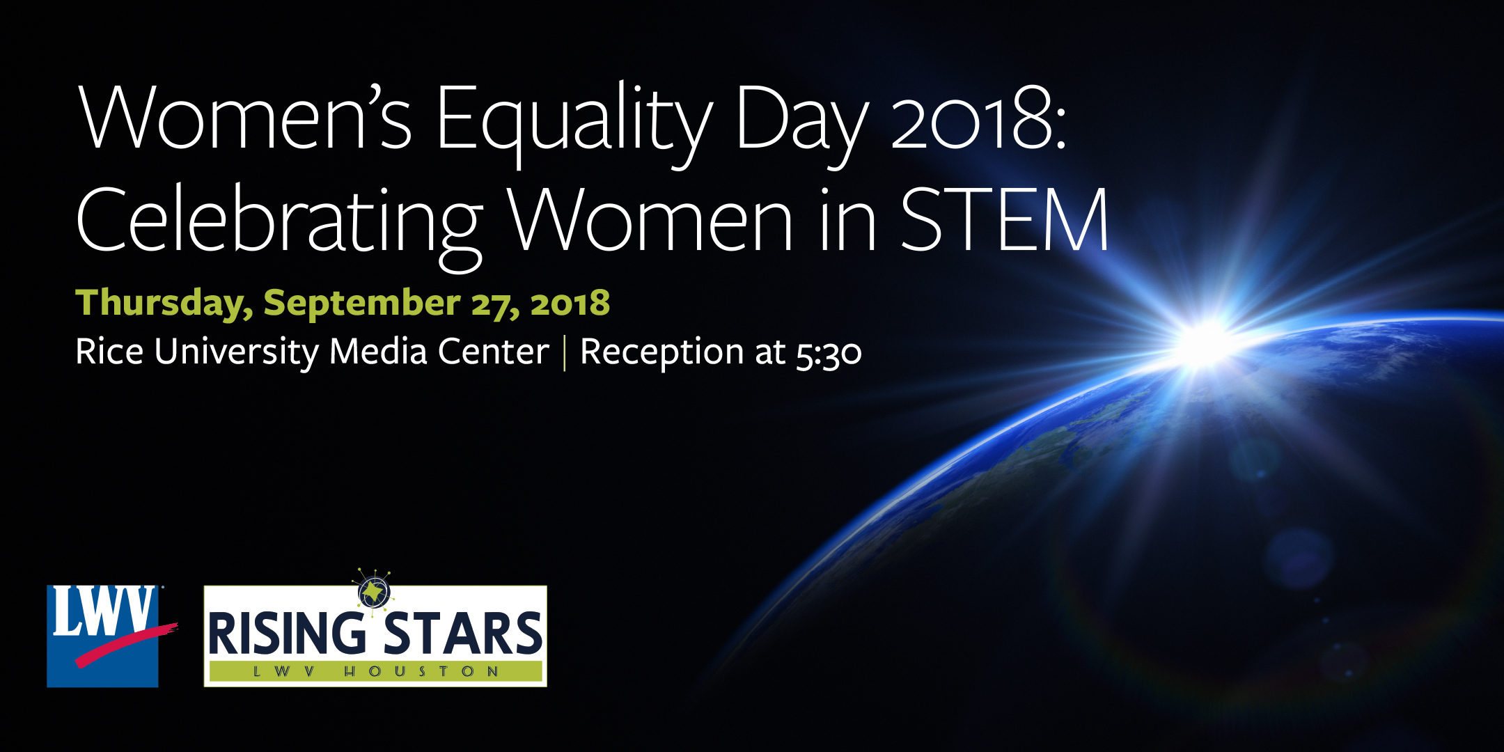 Women's Equality Day 2018: Celebrating Women in STEM @ Rice Media Center