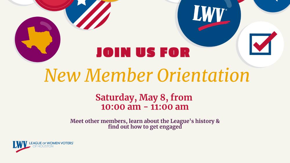 LWV Houston New Member Orientation Logo v2